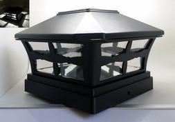 """1/2/4/6/8/10/12-Pc Solar Black Cap SMD LED Light For 4"""" / 5"""""""