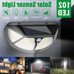 1/2x LED Solar Motion Sensor Lights Outdoor Security Backyar