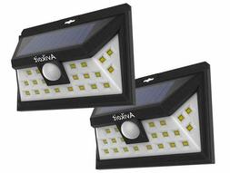 8 Pack Solar Step Lights Outdoor Wireless Waterproof for Sta