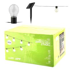 ORA 10 LED Solar Powered String Lights for Outdoor/ Indoor u