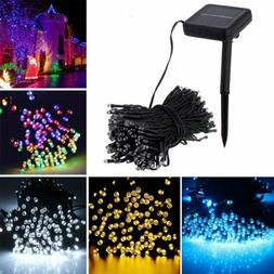 100/200 LED Solar String Fairy Lights Waterproof Outdoor Par