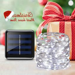 AMIR 100 LED Indoor/Outdoor Solar Powered String Lights
