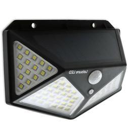 100 LED Solar Lights Outdoor Motion Sensor Security Deck Yar