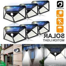 100 LED Solar Power Outdoor Lamp PIR Motion Sensor Waterproo