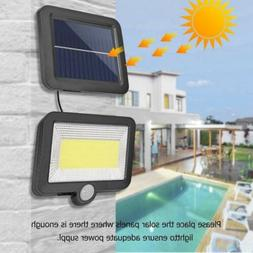 100 led solar powered security light security