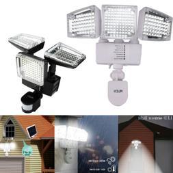 10000lm solar lights 188led motion sensor security