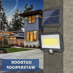 100LED Solar Lamp Motion Sensor IP65 Waterproof Outdoor Path
