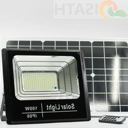 100W LED Light Sensor Solar Lights,Wall Lights Outdoor Garde