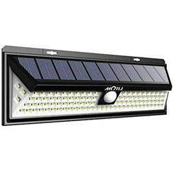 LITOM Enhanced 102 LED Super Bright Solar Lights Outdoor, So