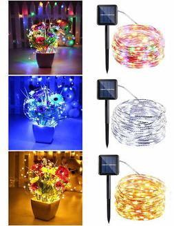 10M/33FT Copper Wire Outdoor String Fairy Light Home Decor
