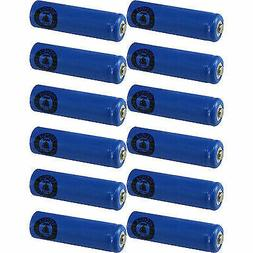 12 AA NiCd Nicad 600 mAh 1.2 V Rechargeable Batteries for So