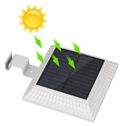 12 LED Solar Gutter Lights Outdoor, Wireless Gutter Lights D