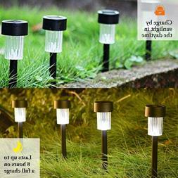 Maggift 12 Pcs Solar Pathway Lights Solar Garden Lights Outd