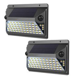 12-Watt Equivalent Integrated LED Black Dual Motion Sensor S