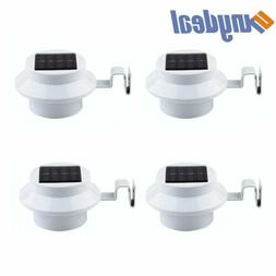 12pcs 3-LED Solar Power Garden Security Fence Lamp Outdoor W