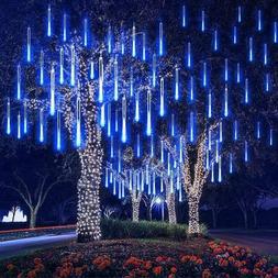 144 LED Solar Meteor Shower String Lights Tree Lamp / 100 LE