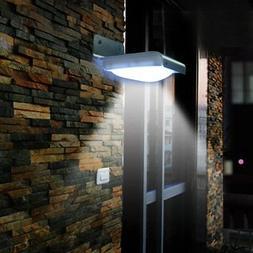 16 LED Solar Power Motion Sensor Garden Outdoor Waterproof L