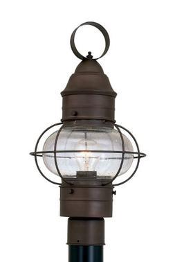 Designers Fountain 1766-RT Nantucket Post Lanterns, Rustique