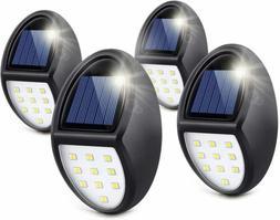 1/2/4x 10 LED Waterproof Solar Wall Lights Outdoor Garden Ya