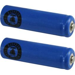 2 AA NiCd Nicad 600 mAh 1.2 V Rechargeable Batteries for Sol