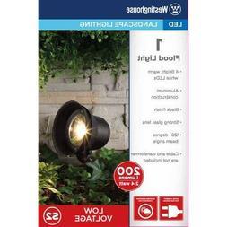 2 - Westinghouse LED Landscape Flood Lights 200 Lumens Use O