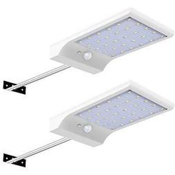 30 LED Solar Lights Wall Pole Outdoor Motion Sensor Gutter L