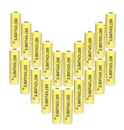 RELIGHTABLE AA NiCd 600mAh 1.2V Rechargeable Batteries Solar