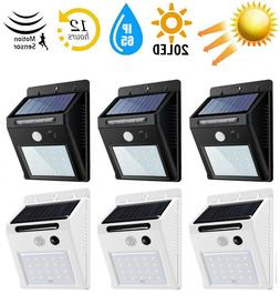20 LED Outdoor Solar Power Motion Sensor Wall Light Waterpro