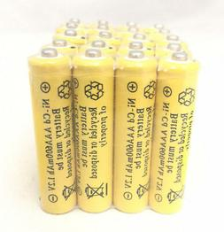20 pcs Rechargeable NiCd AAA 600mAh Ni-Cad Batteries for Sol