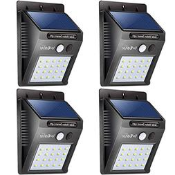 20 LED Solar Lights Outdoor,LivEditor Waterproof Solar Power
