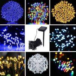 200/100 Outdoor Solar Powered String Light Garden Christmas