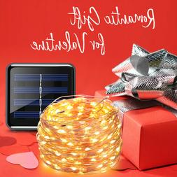 AMIR 200 LED Solar Powered String Lights Xmas Party