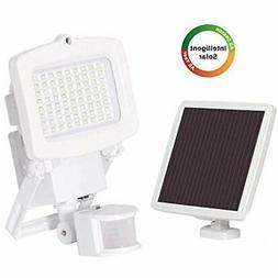 2000 Lumens Solar Security Light, Motion Activated LED Outdo