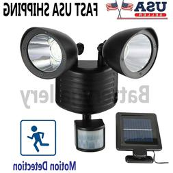 22 LED Dual Security Detector Solar Spot Light Motion Sensor