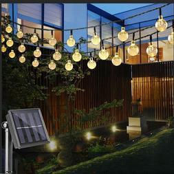 23ft 50 led solar string fairy lights