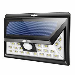 Litom 24 LED Outdoor Motion Sensor Solar Lights Wide Angle D