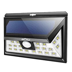LITOM 24 LED Solar Lights Outdoor, 3 Optional Modes Wireless
