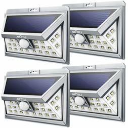 Litom 24LED Solar Light Motion Sensor Wall Light Outdoor Gar