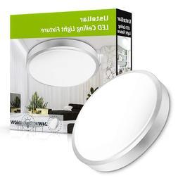 Ustellar 15W LED Ceiling Light Ultra Thin Flush Mount Kitche
