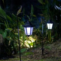 Outdoor Hanging Solar Lights Coach Lantern 2 Shepherd 26 inc