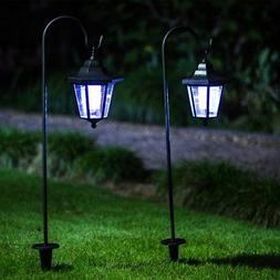 GIGALUMI 26 Inch Solar Lights Outdoor, Hanging solar Coach L