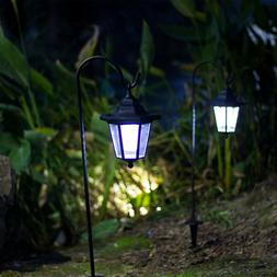 GIGALUMI 26 Inch Solar Lights Outdoor, H