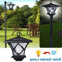 1.5M Solar Power Light Lamp Post Lantern Yard Stake Outdoor