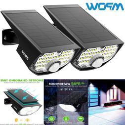 2pack MPOW Solar Lights Outdoor 4th Generation 30 LED Super