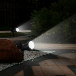 Mpow 2Panel Solar LED Spot Lights Wall Lights Garden Lights