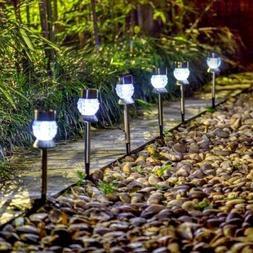 2pcs Solar Lights Outdoor Garden Led Light Landscape / Pathw
