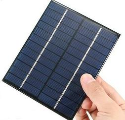 2W 12V 0-160mA Mini Solar Panel DIY powered models Photovolt