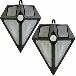 2X Solar Energy Powered Auto On / Off Outdoor Lights Motion