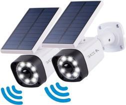 2X Ultra Bright LED Solar Security Lights Outdoor Motion Sen