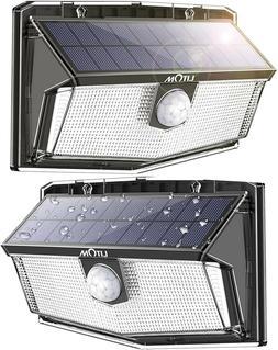 300 led solar motion sensor lights outdoor